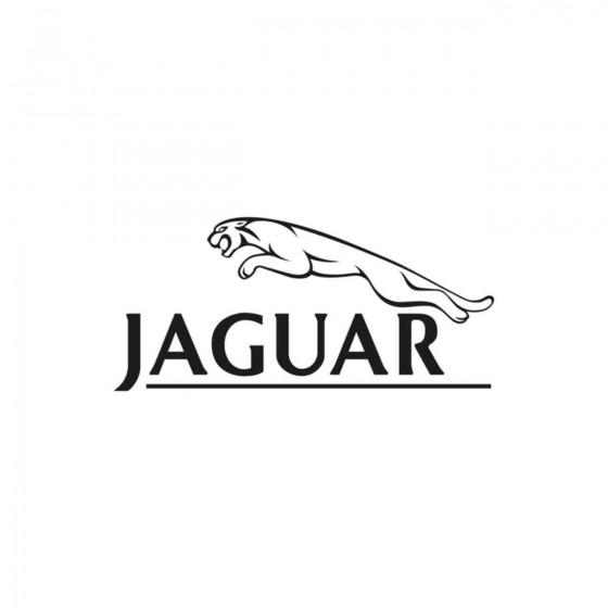 Jaguar Trait Vinyl Decal...