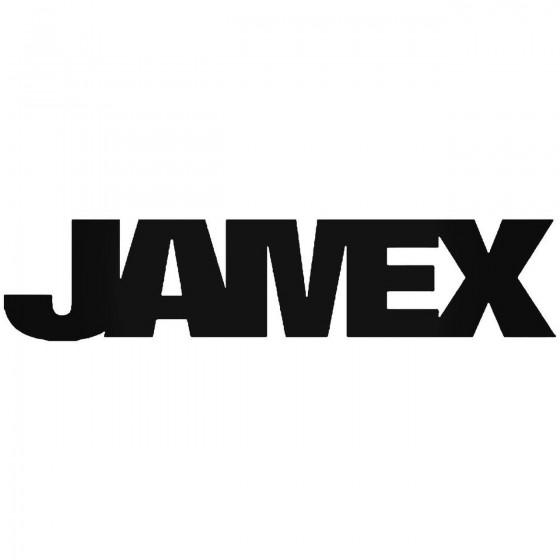 Jamex Vinyl Decal Sticker