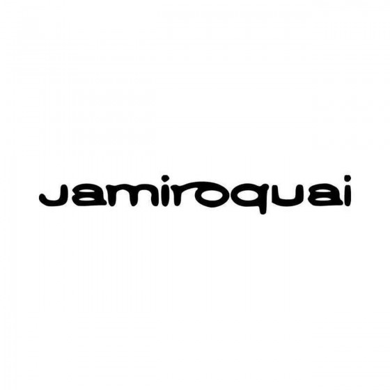 Jamiroquai V Vinyl Decal...